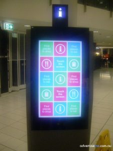 Digital Signage Enclosure Airport