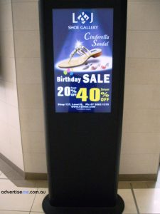 Digital Signage Shopping Centre