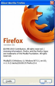 Firefox version 3.6