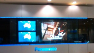 Panasonic Screen Sydney Airport