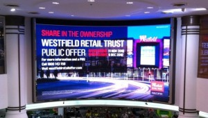 LED Screen Westfield Pitt Street Mall
