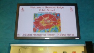 digital-signage-welcome-message-school