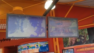 Digital Signage Sydney Wildlife LCD Screens