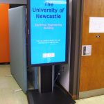 University of Newcastle Digital Signage