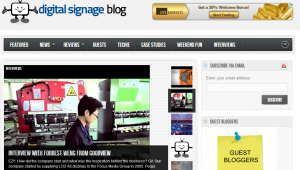 digitalsignageblog homepage