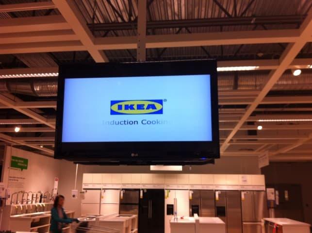 ikea digital signage indoor (Small)