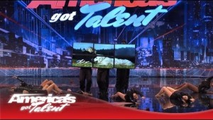 Digital Signage and Dance on America's Got Talent 2013