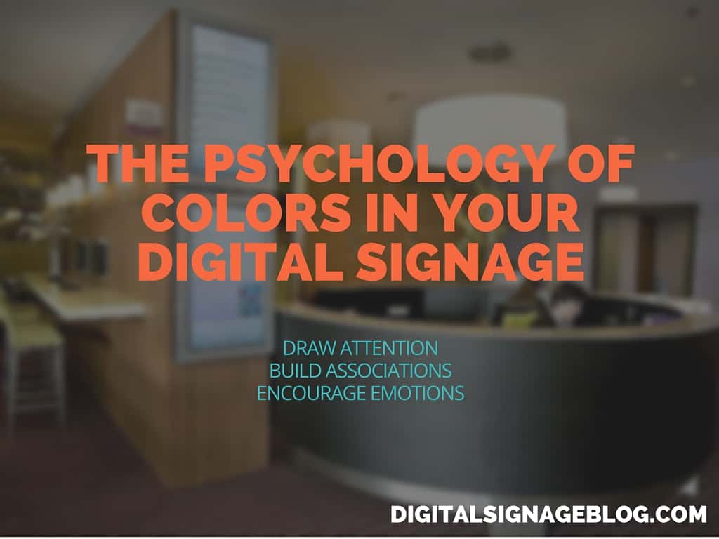 The Psychology of Colors in Your Digital Signage header