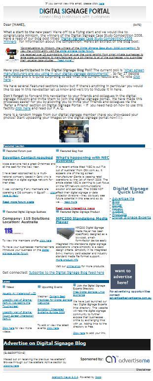 newsletter 20092