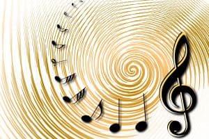 digital signage music