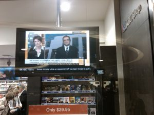 Digital Signage Live ABC News and RSS News Ticketer