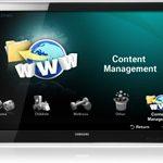 Samsung LED HDTV Content Management