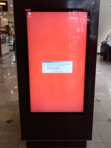 Digital Signage gone wrong
