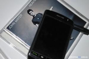 John Mayer CD Blackberry Storm