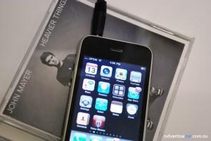 John Mayer CD Iphone