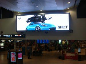 Sydney Domestic Airport Digital Signage Screen