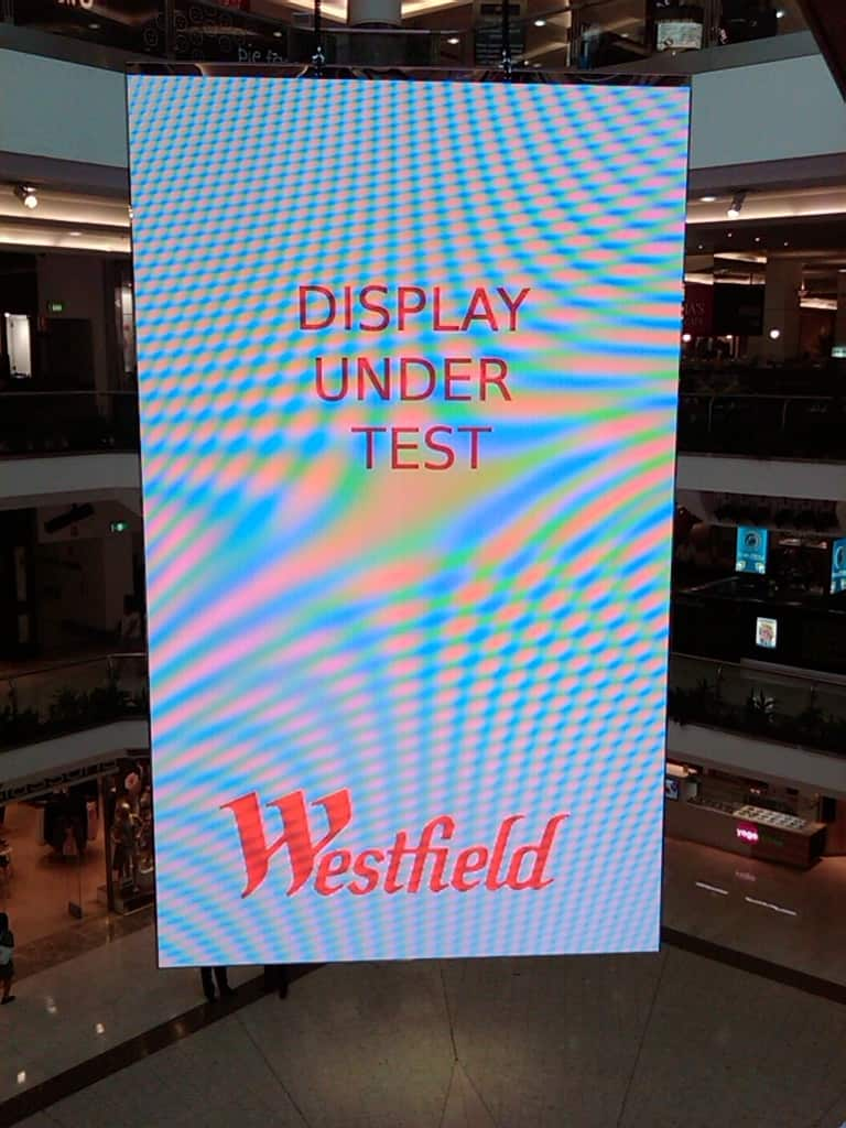 Parramatta LED Screen Test