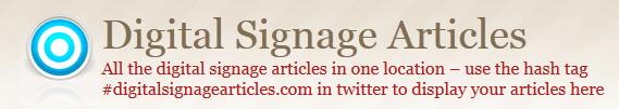 digitalsignagearticles hash tag