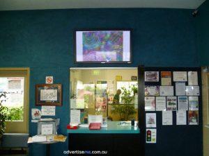 digital signage education screen in school