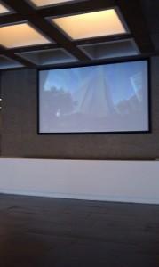 uts digital signage projector
