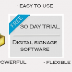 free 30 day trial digital signage software