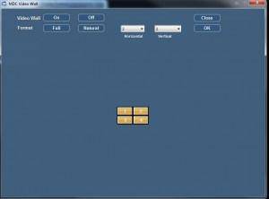 multiple display control video wall setup
