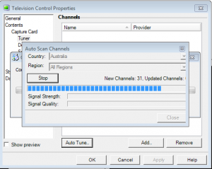 Auto Scan Channels
