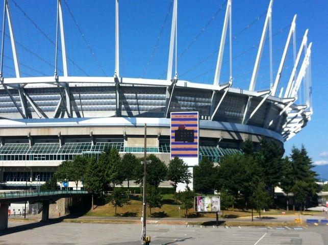 Digital Signage stadium Vancouver