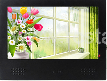 motion sensor lcd advertising display