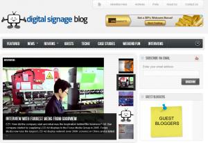 digitalsignageblog homepage