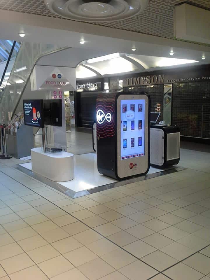 digital banner stand