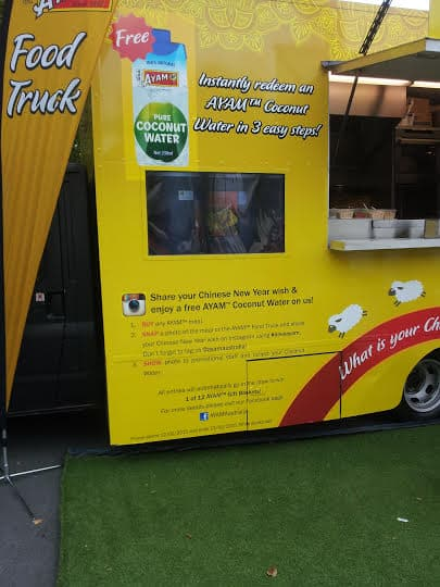 Food Truck Digital Signage Social Media