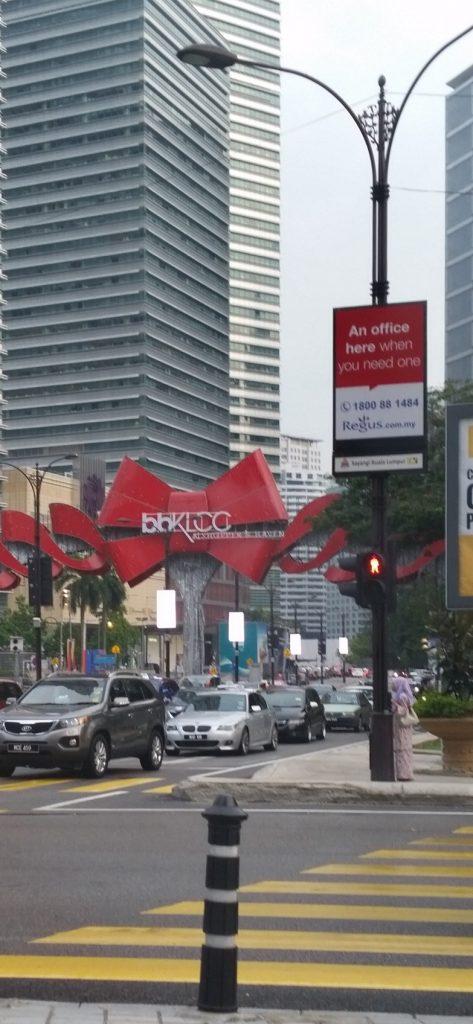 Digital Signage Malaysia LED Light Post