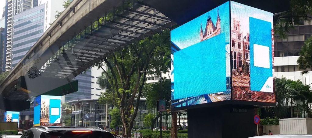 Digital Signage Malaysia LED pillars