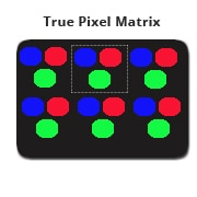 True Pixel Matrix