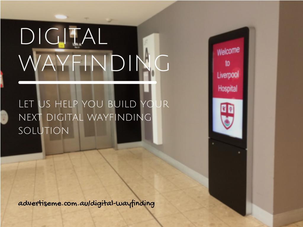 Digital Wayfinding