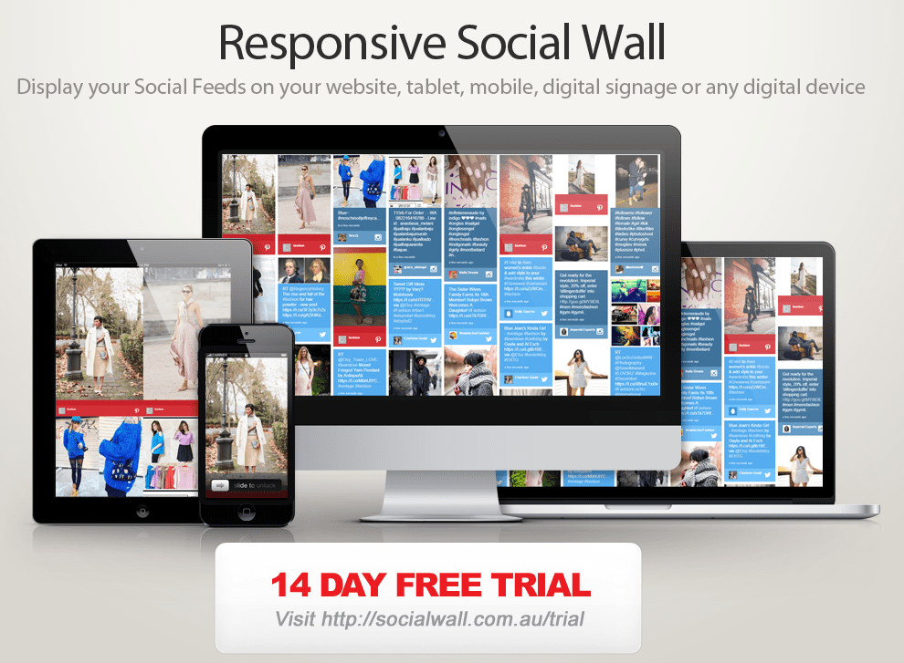 Social-Wall-responsive