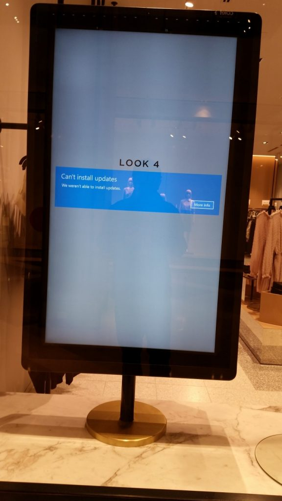 Digital Signage Blog - Fail Windows Updates