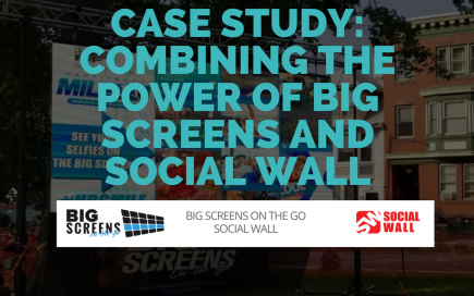 CASE STUDY- COMBINING THE POWER OF BIG SCREENS AND SOCIAL WALL