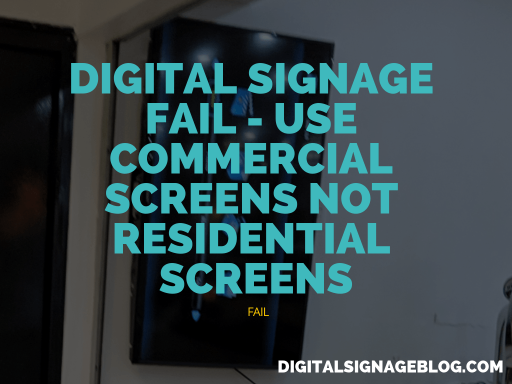 Digital Signage Blog - Digital Signage Fail PDF