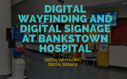 Digital Signage Blog Digital Wayfinding and Digital Signage at Bankstown Hospital 1