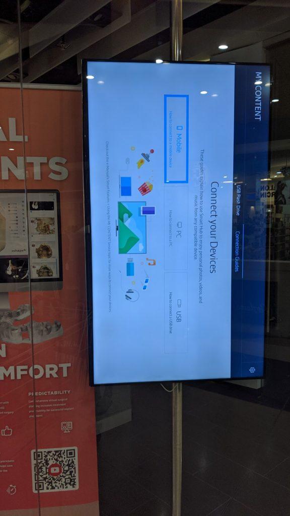 Digital Signage Blog - Samsung Screen Incorrect Setup
